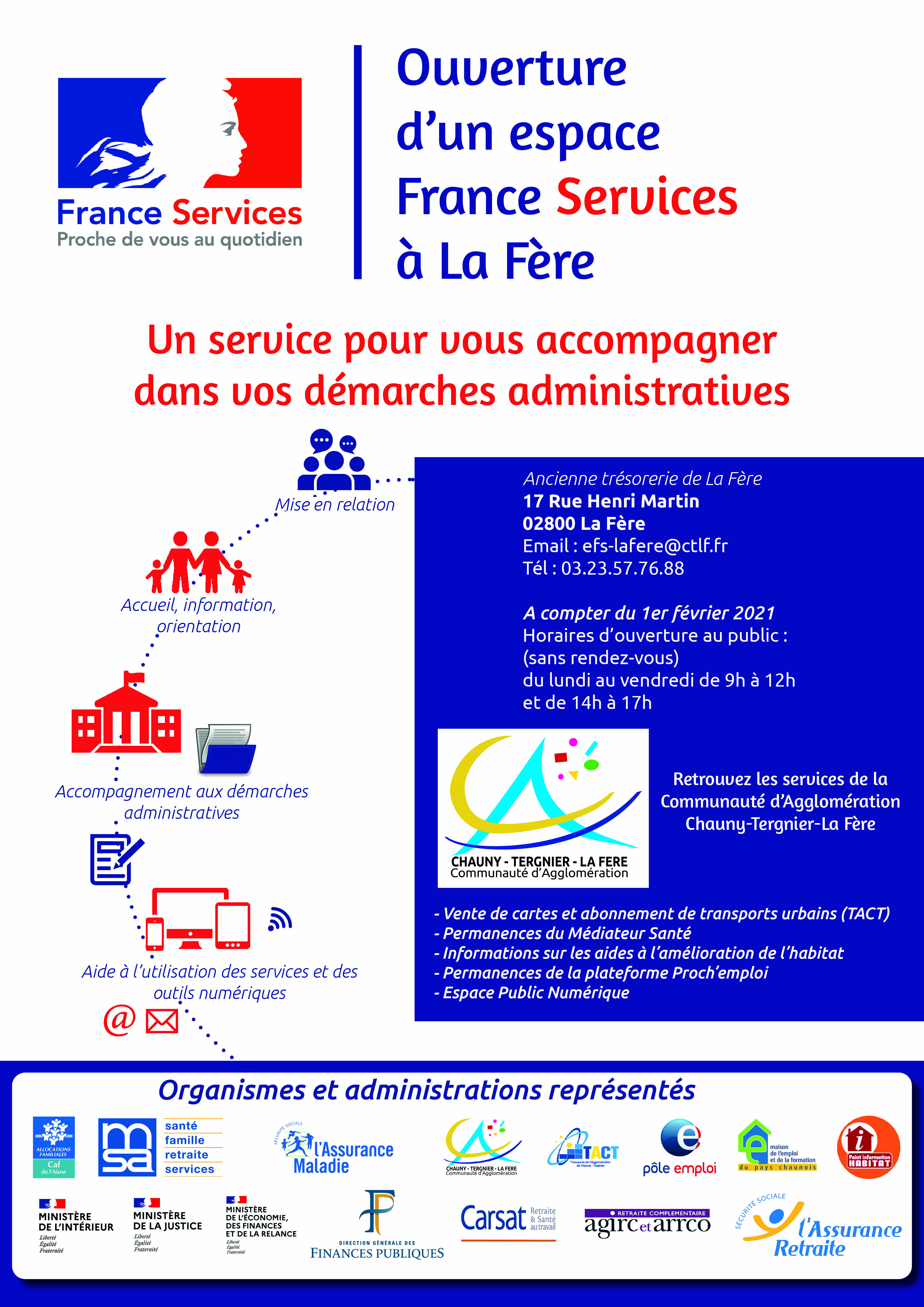 france services travecy